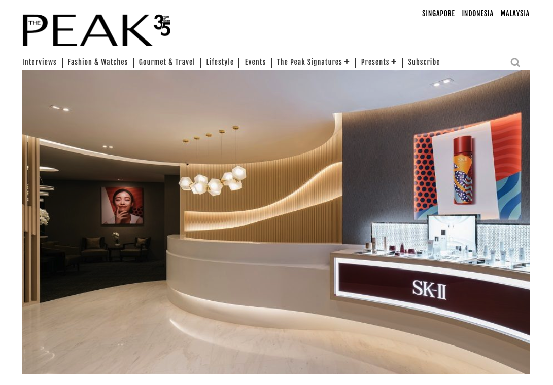 What to expect at the new SK-II Boutique Spa by Senze Salus