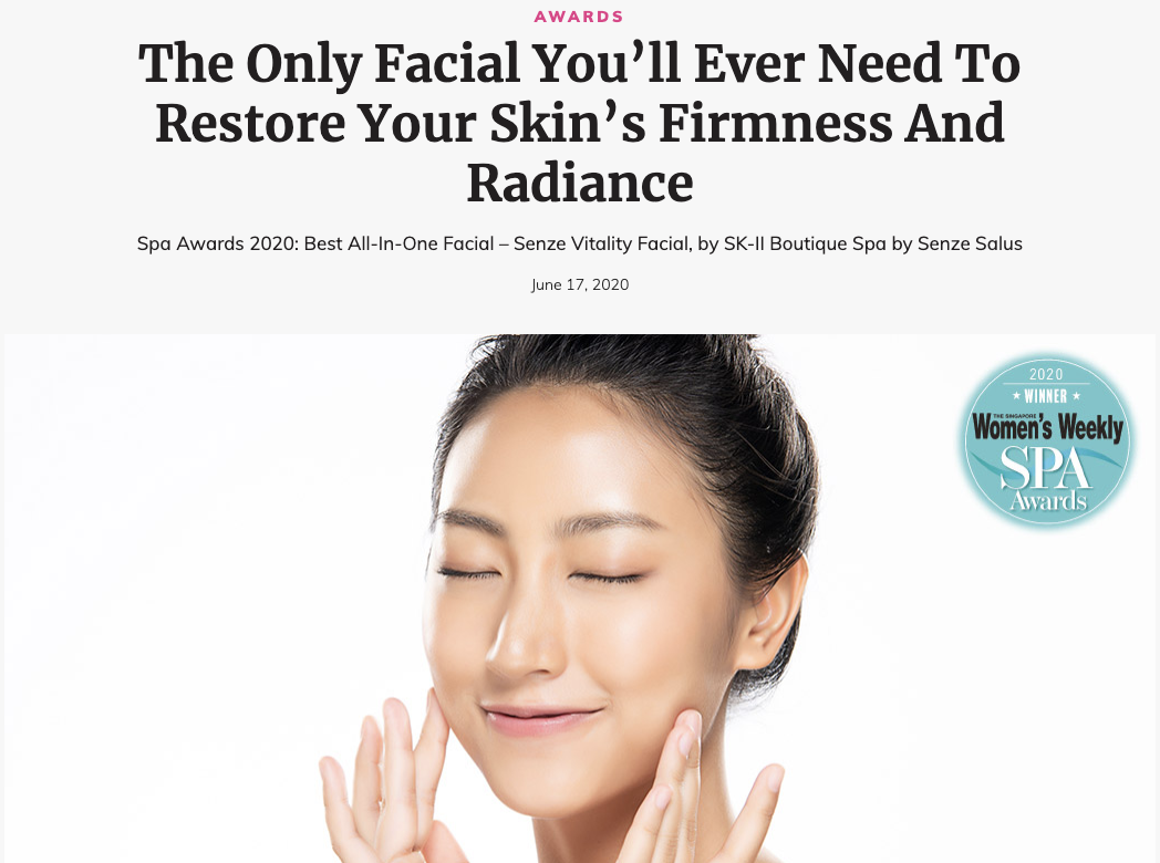 BEST ALL-IN-ONE FACIAL